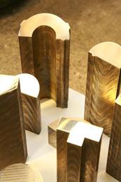 cast bronze shapes
