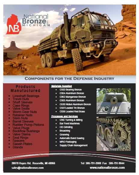 defense bronze components