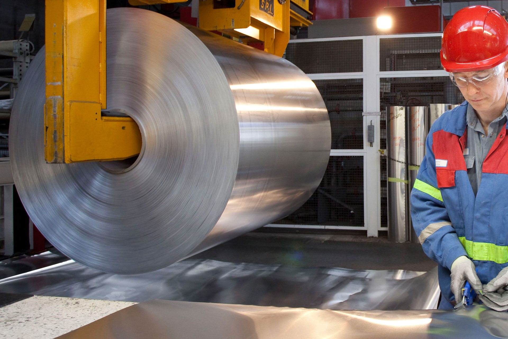 Steel Products Manufacturing : Bronze liners and wear plates for metal rolling mills