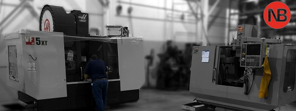 Haas for machining bronze plate