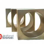Square bronze bushing
