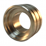 grooved guide bushing