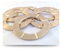 thrust washer cast bronze bearings