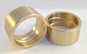 bronze sleeve bearing oil groove