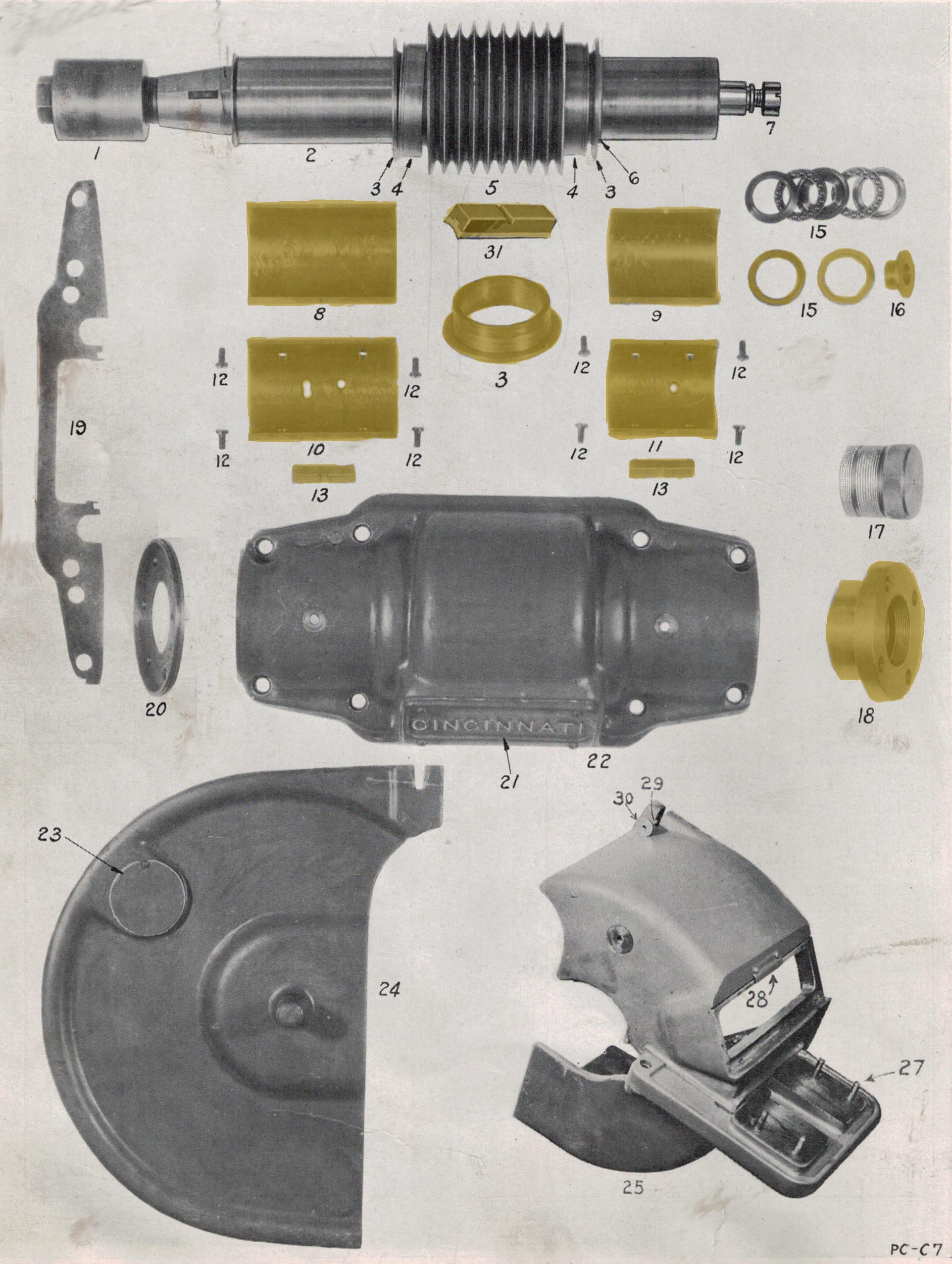 centerless grinder bronze bushings