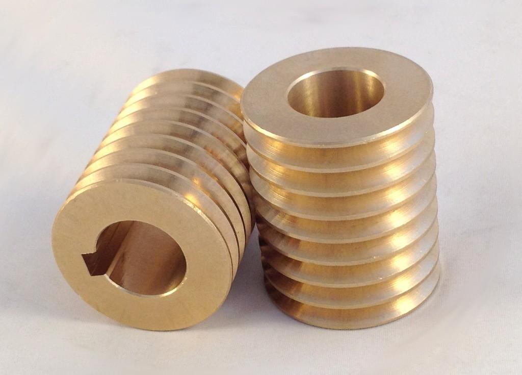 Bronze Throwing Wheel Hub Bearing
