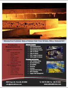 Steel Mill Bronze Parts