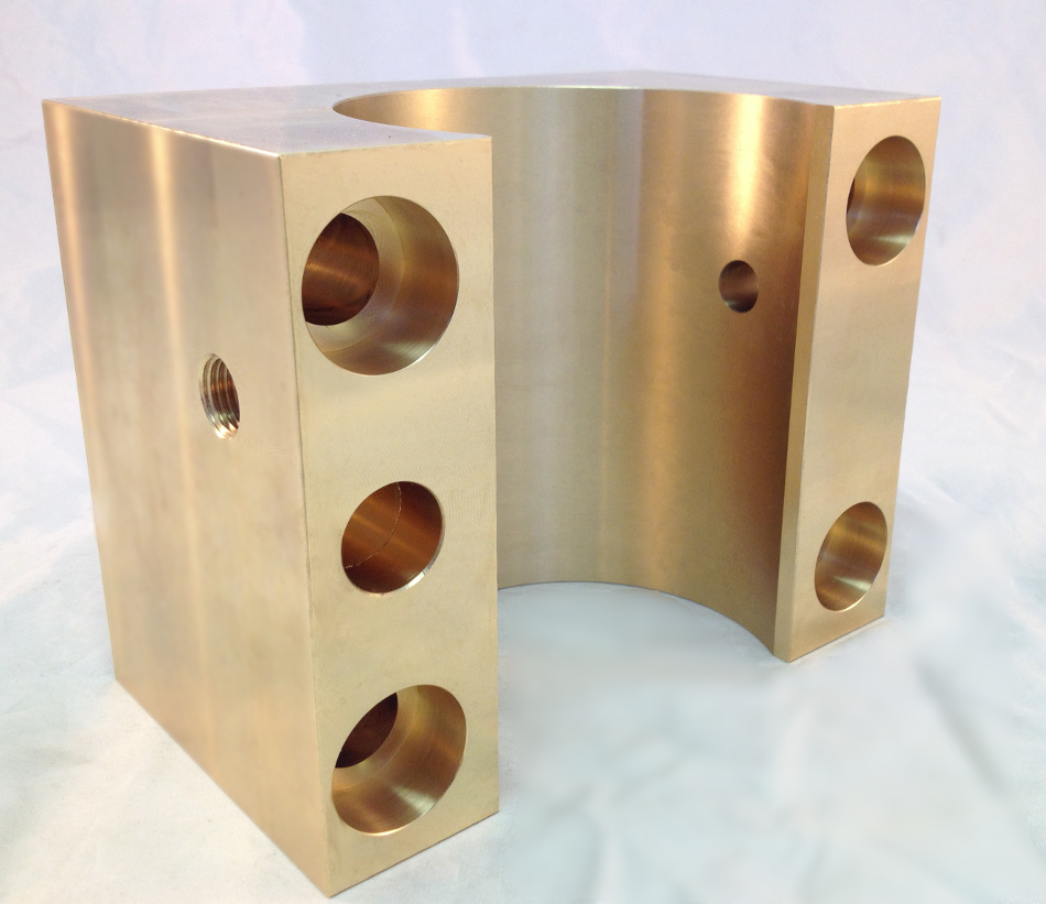 bronze sliding bearing