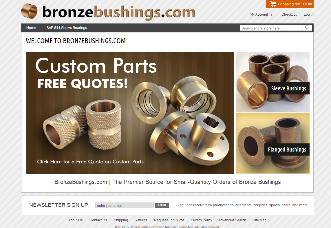 bronzebushings