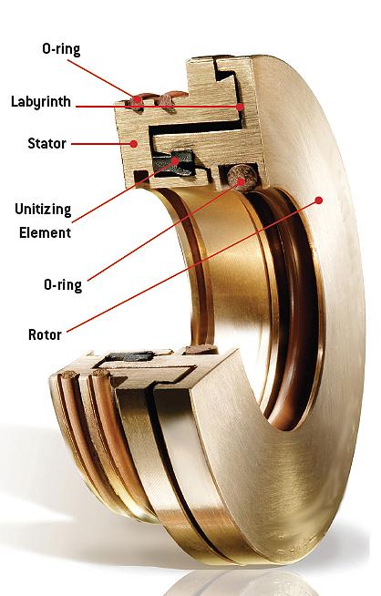 Bronze Bearing Isolator