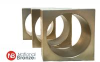 Square bronze bushing