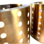 teflon plugged bronze bearings
