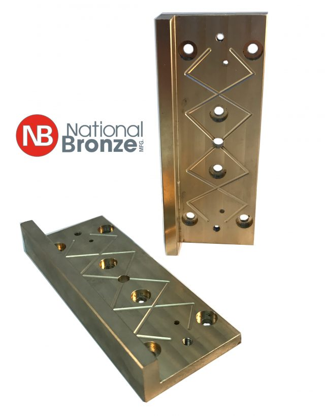 C959 Aluminum Bronze Wear Plates