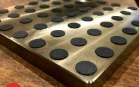 Manganese Bronze slide bearing plate