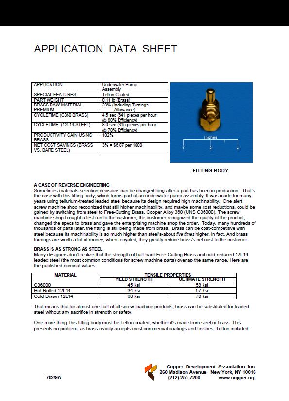 C36000 Free Cutting Brass Bar | National Bronze Mfg