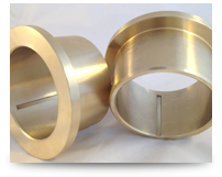 flanged cast bronze bushings